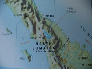Niasの地図